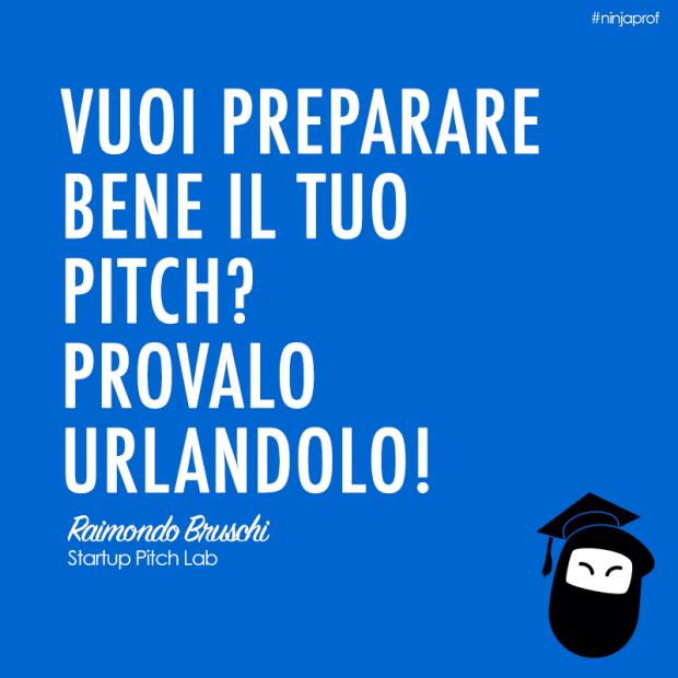 come preparare un pitch