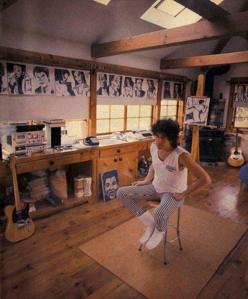 Gli spazi di lavoro di John Lennon, Steve Jobs, Bill Clinton e altri personaggi famosi