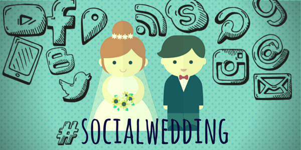 Social Media Wedding? Sì, lo voglio