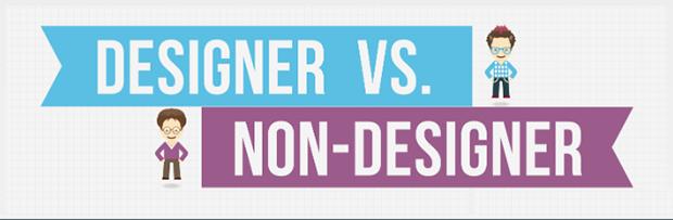 I designer e tutti gli altri: le differenze [INFOGRAFICA]