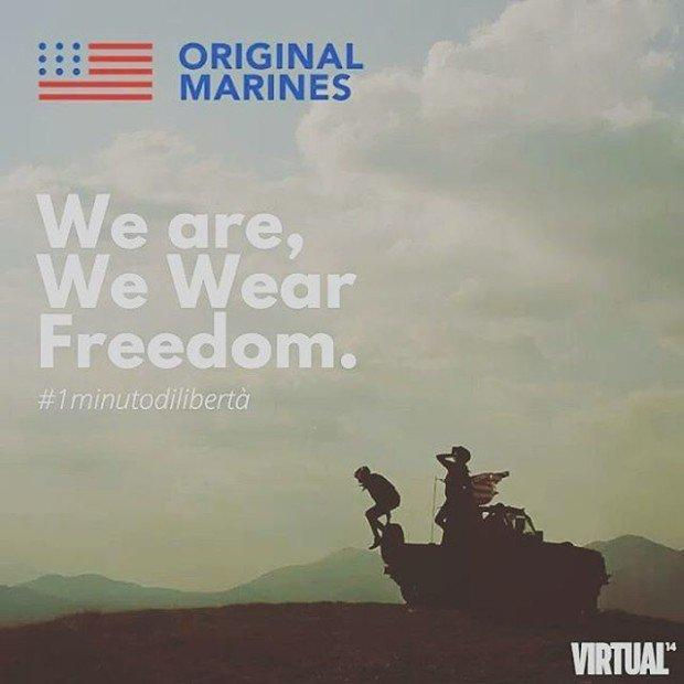 We Are, We Wear Freedom: libertà a 360° firmata Original Marines