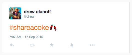 Twitter e Coca Cola: il primo emoji sponsorizzato per un brand