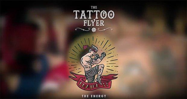 volantini pubblicitari tatuaggi