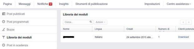 libreria-moduli-facebook-lead-ads