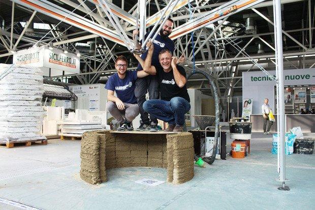 Maker economy, è italiana la stampante 3D alta 12 metri
