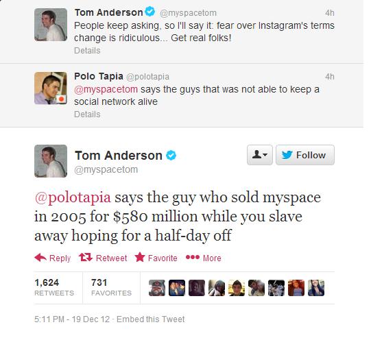 Che fine ha fatto Tom di Myspace