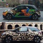 Un nuovo modo di vivere la strada: la grinta della DS3 incontra la street art