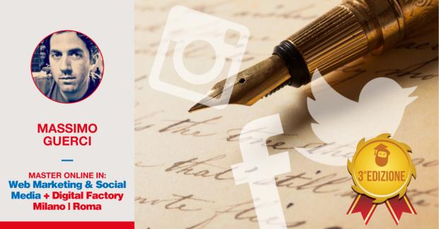 Scrivere efficacemente per il social: ce lo racconta Massimo Guerci