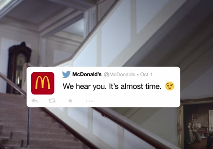 Da McDonald's i consumatori sono i veri creativi