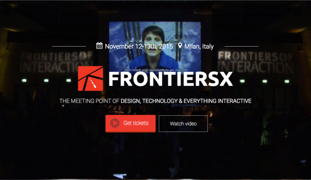Frontiers of Interaction 2015, scopri il futuro del business [CALL TO ACTION]