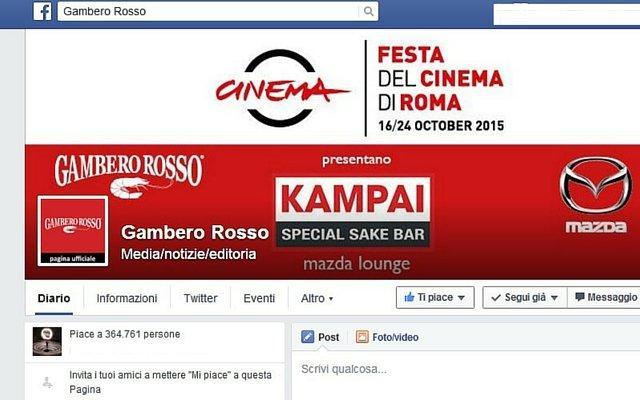 Gambero Rosso Facebook