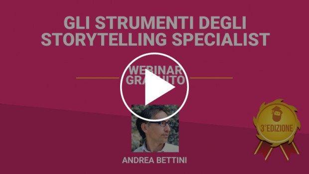 Gli strumenti degli storytelling specialist