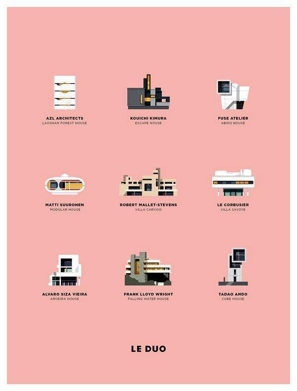 Icone di design di personaggi e oggetti pop