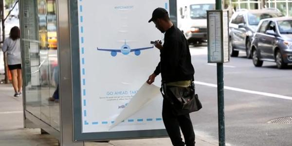 Ruba l'annuncio e vola con JetBlue