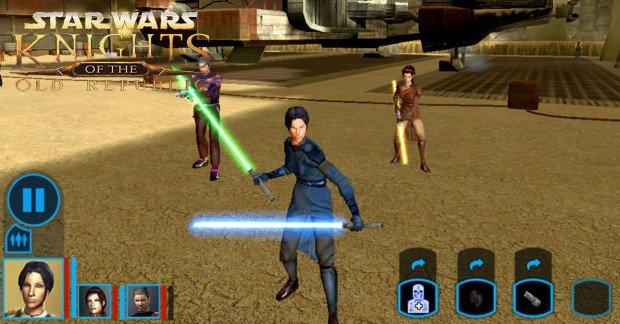 kotor gameplay