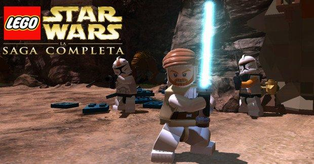 lego star wars la saga completa gameplay