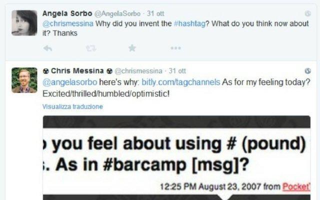 hashtag Chris Messina