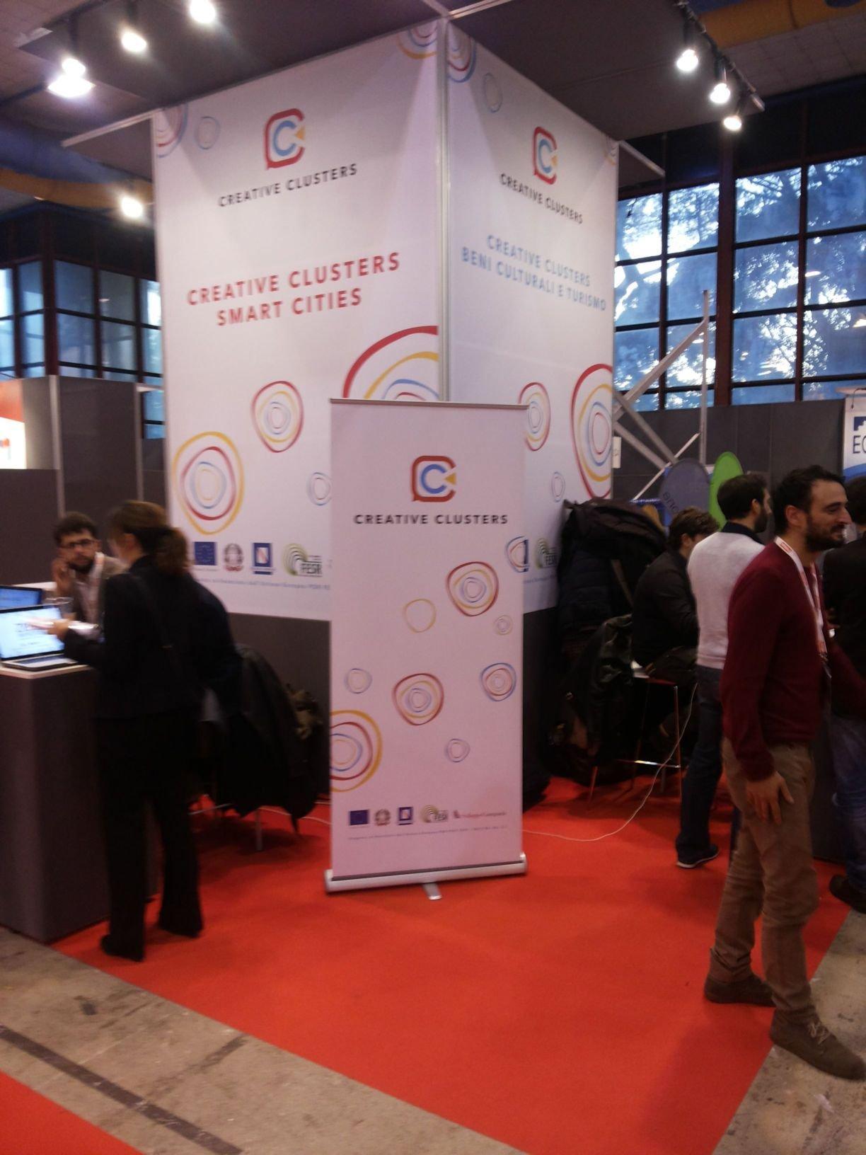 Creative Clusters allo Smau Napoli 2015: ecco cosa è successo