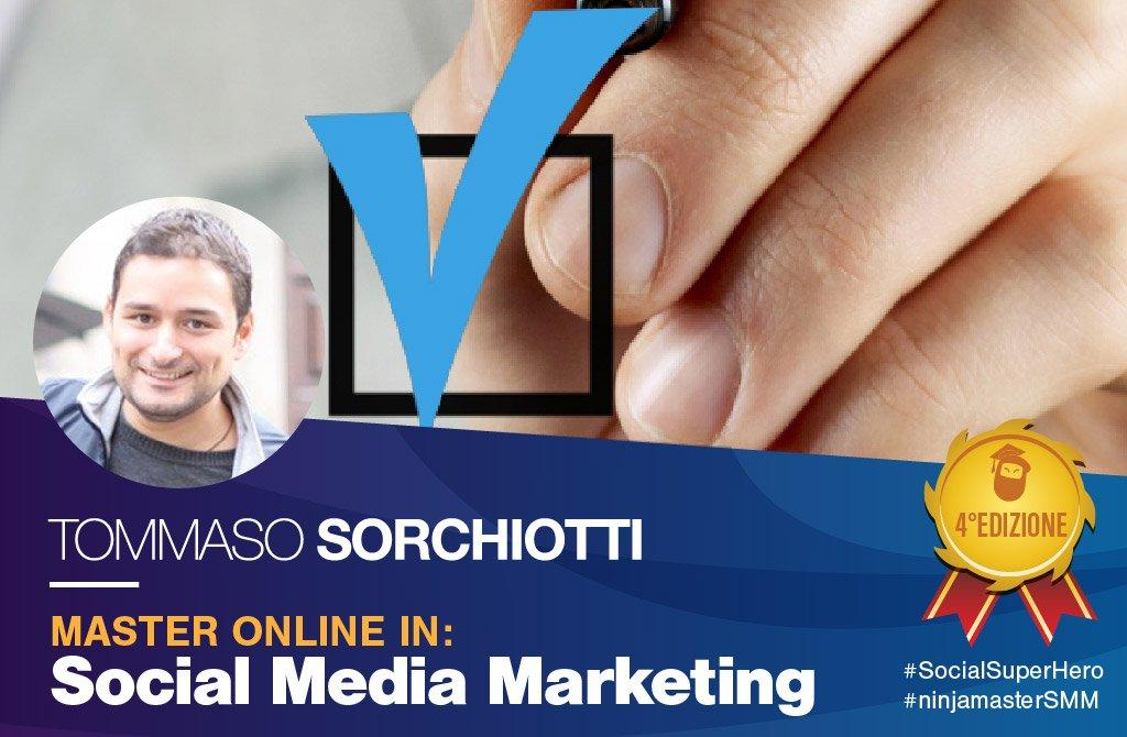 master social media marketing tommaso sorchiotti