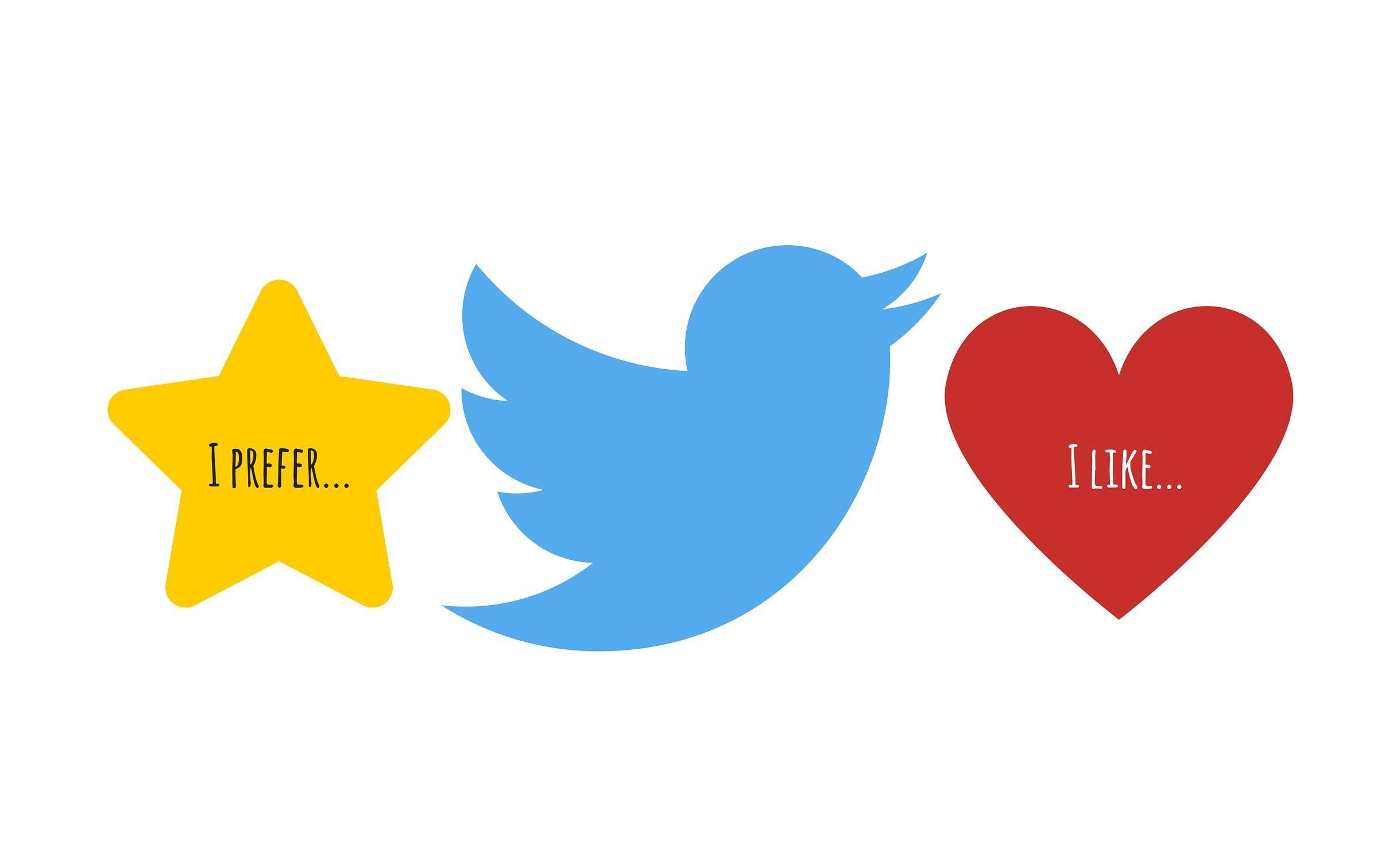 Like on Twitter