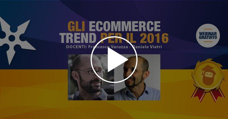 Free Masterclass ecommerce on demand