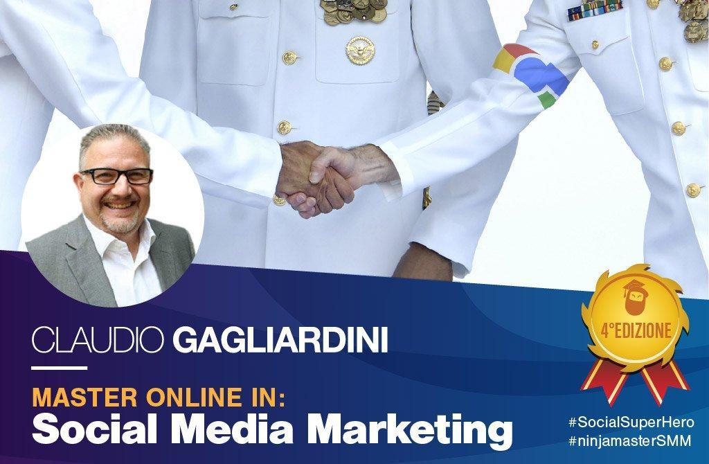 Claudio Gagliardini master social media