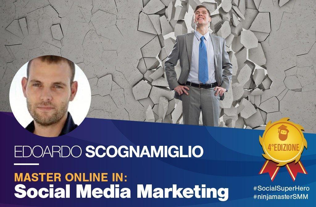 Edoardo Scognamiglio master social media marketing