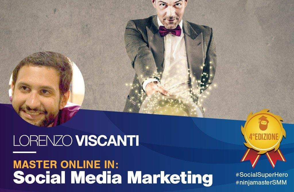 lorenzo viscanti master social media