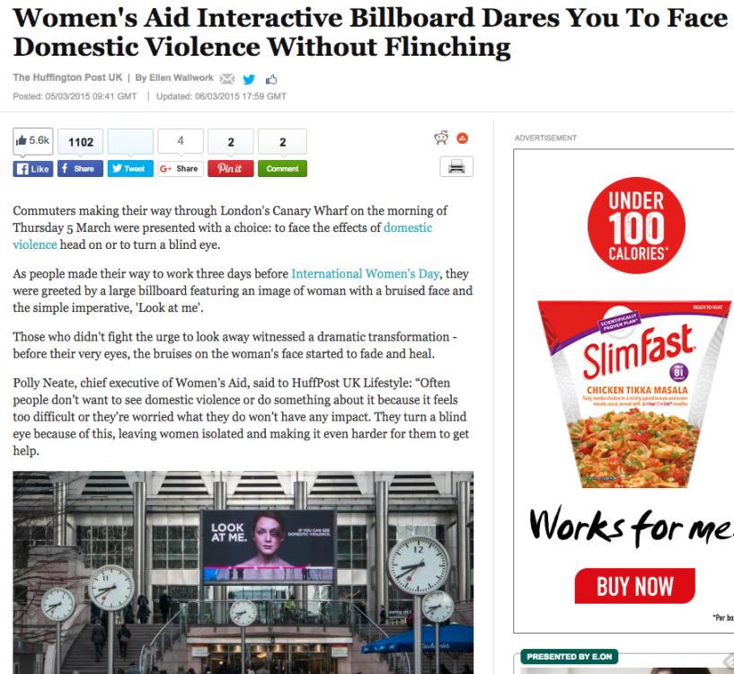 Women's Aid, quando un'esperienza ci insegna a non voltare lo sguardo