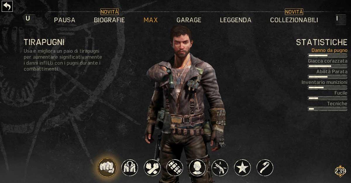 mad max videogioco pc personalizzazione