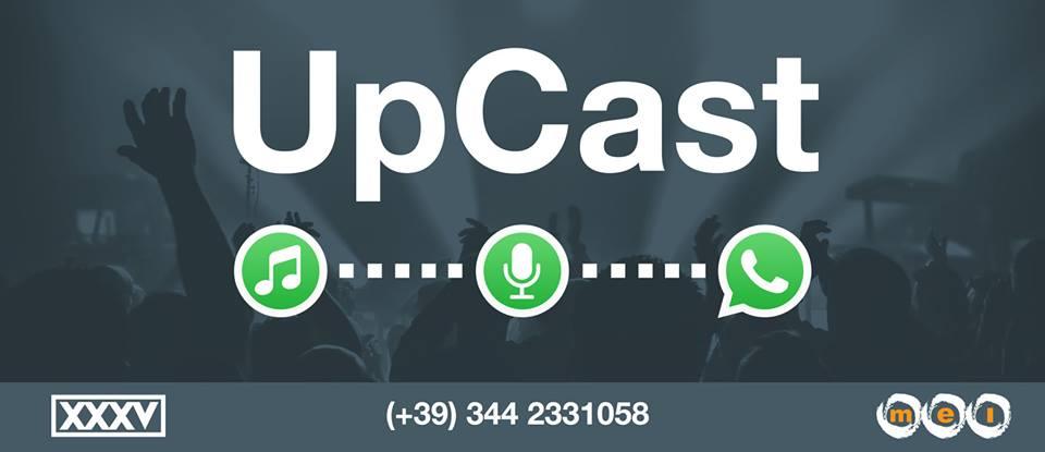 UpCast: ora la musica podcast è su WhatsApp!