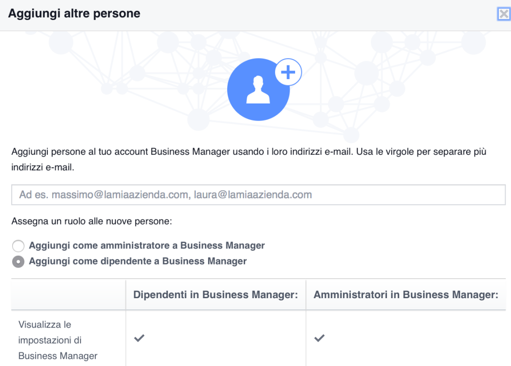 Guida Facebook Business Manager 7