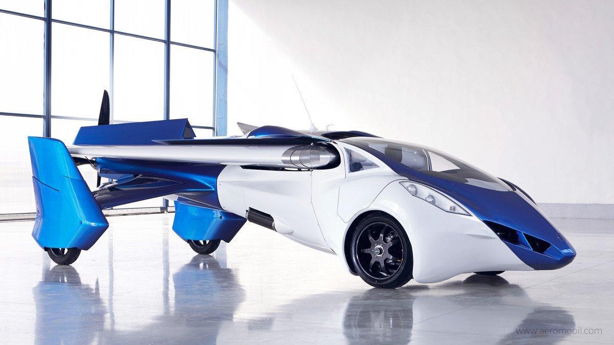 Le automobili volanti non esistono? Ci pensa AeroMobil