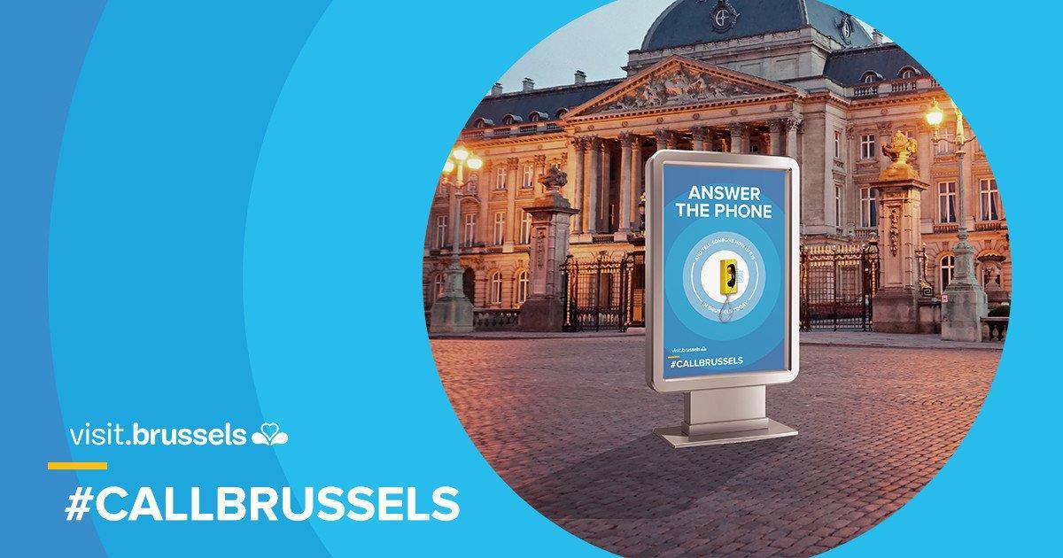 CallBrussels: un'idea creativa per rilanciare il turismo