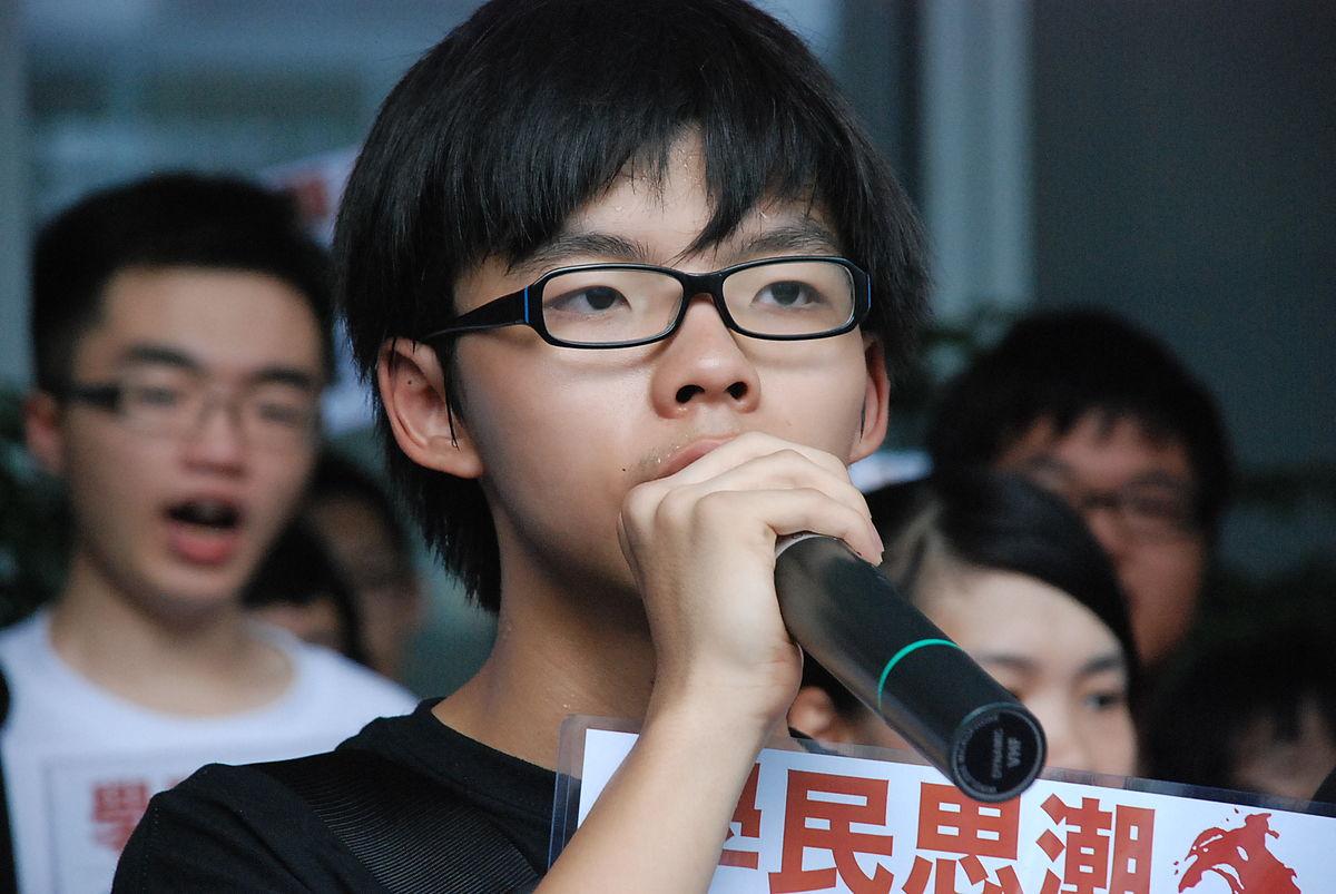 attivismo: joshua wong
