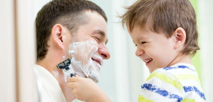 Il 19 marzo per Gillette Perchè non lo chiedi a papà
