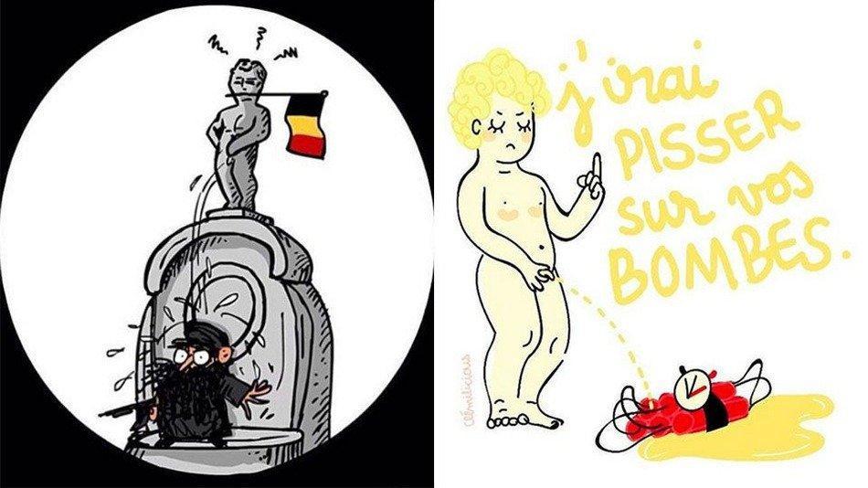 La reazione degli artisti agli attentati di Bruxelles del 22 marzo
