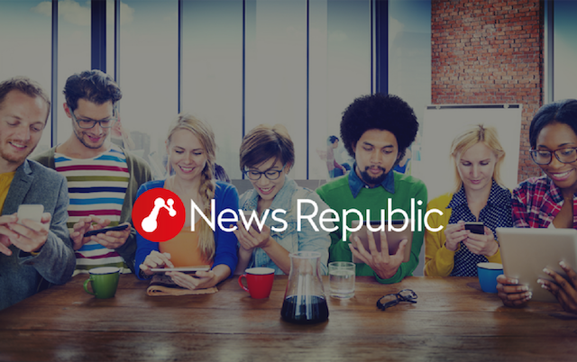 News Republic ti permette di conoscere le notizie del mondo in un solo click