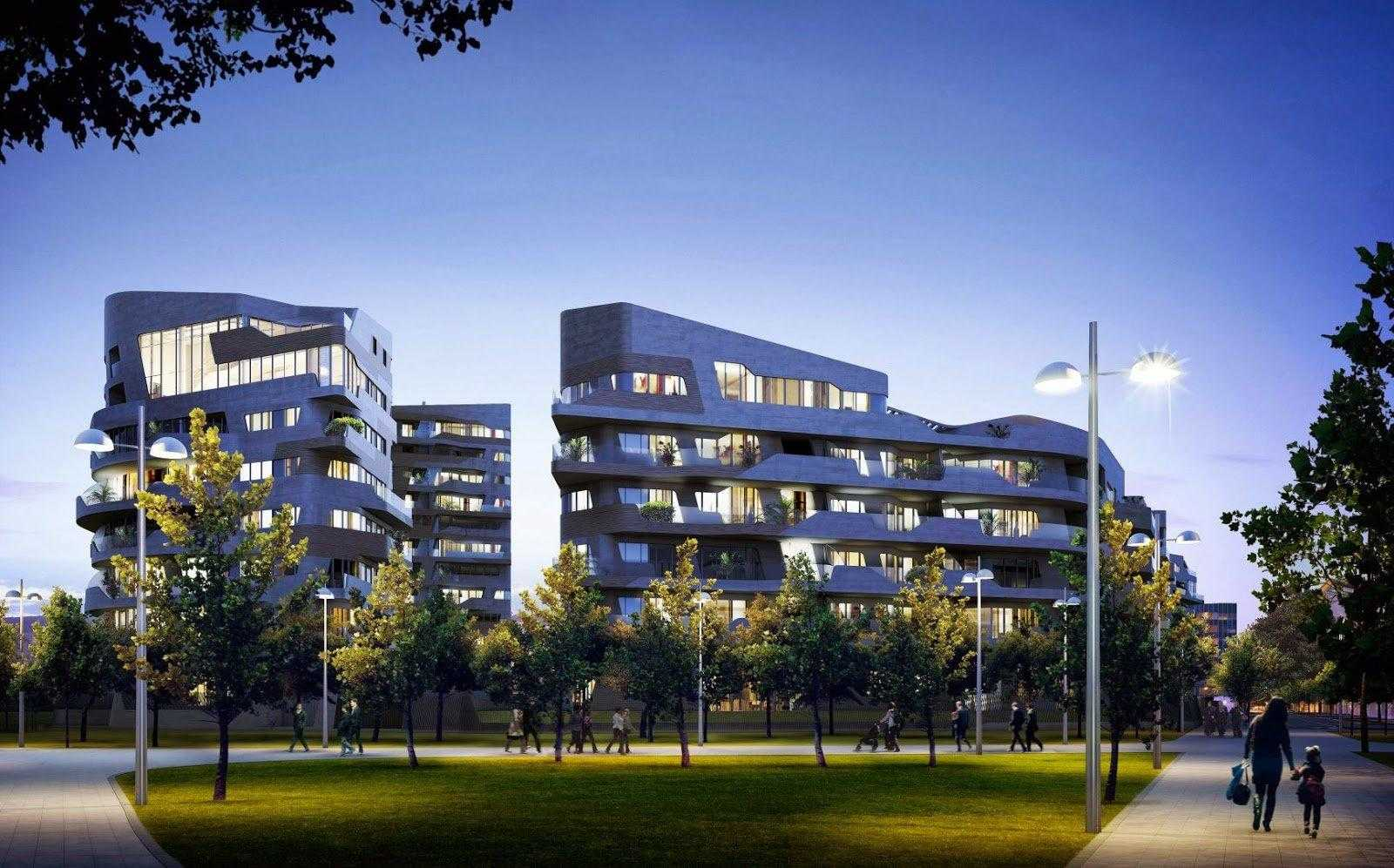 Residenze Hadid, CityLife, Milano