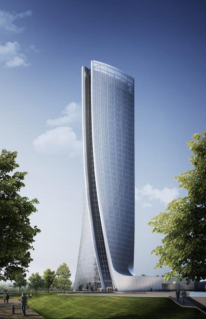 Torre Hadid, Generali, Milano (in costruzione)