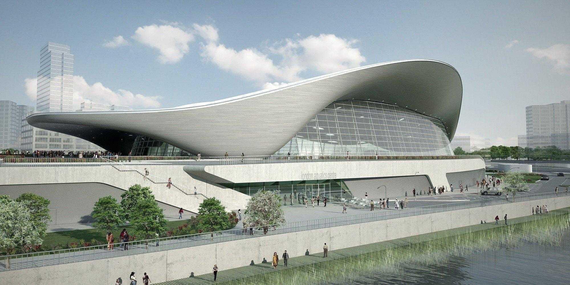 London Aquatics Centre (completato nel 2011, costruito per le Olimpiadi di Londra)