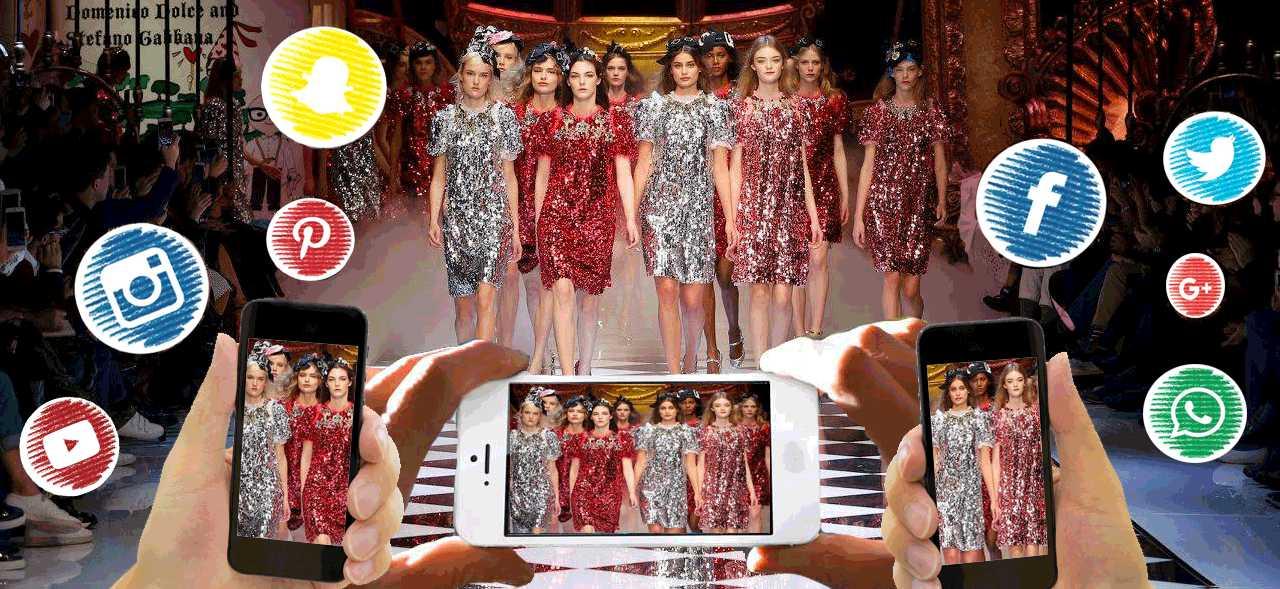 Parigi VS Milano: la battaglia delle Fashion Week vista dai social media