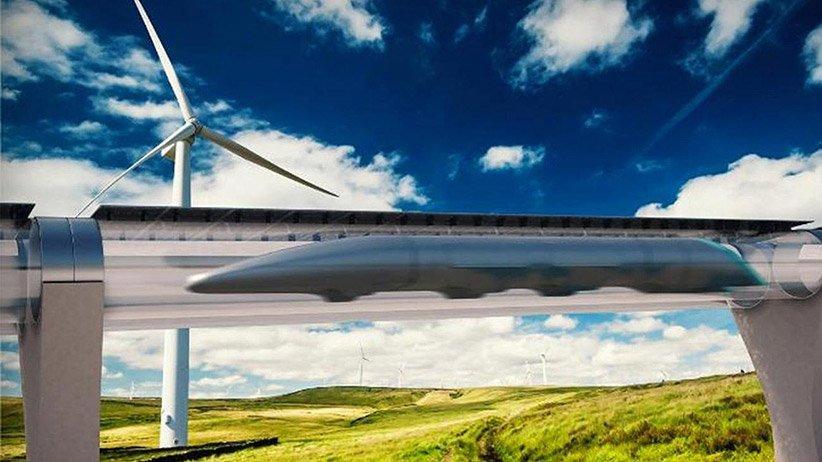 Il treno superveloce di Hyperloop Transportation Technologies