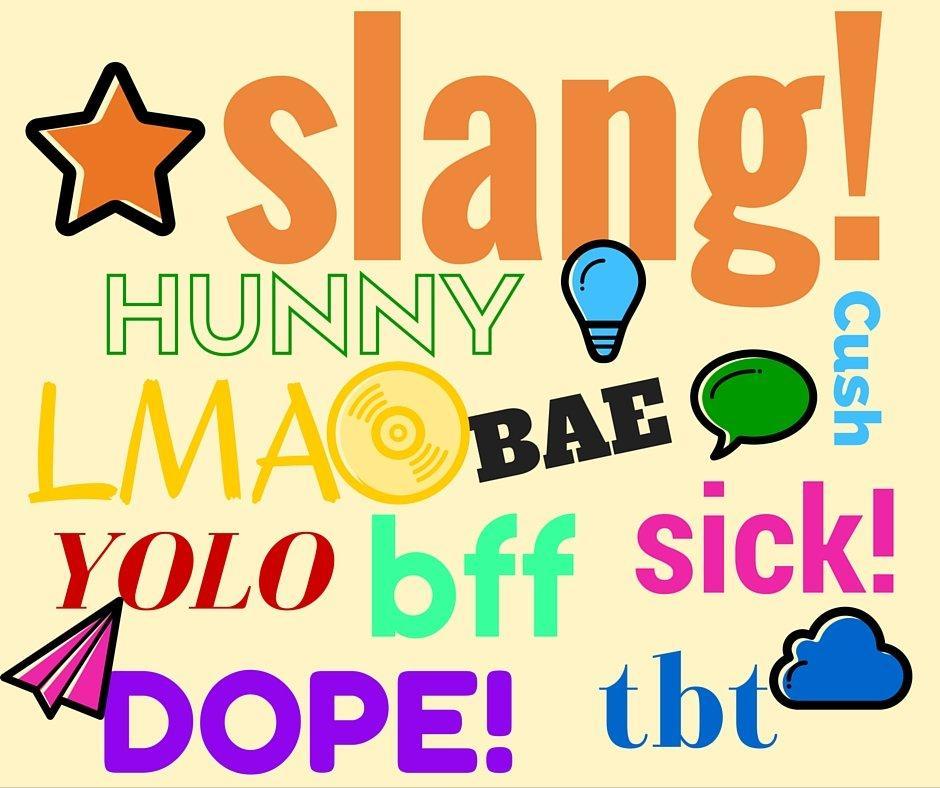 Facebook e slang