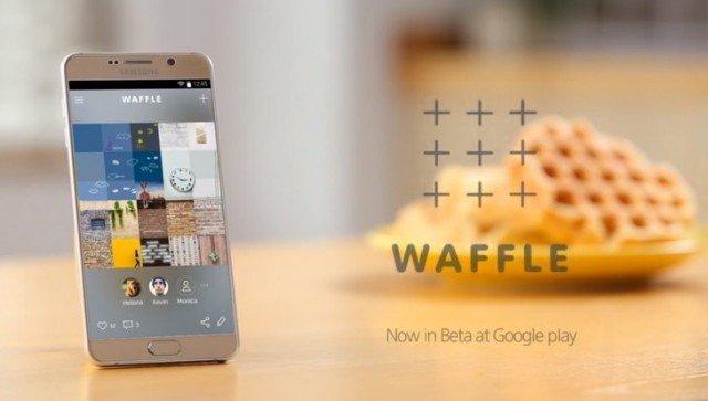 Waffle, il social network di Samsung per creare immagini con i tuoi amici