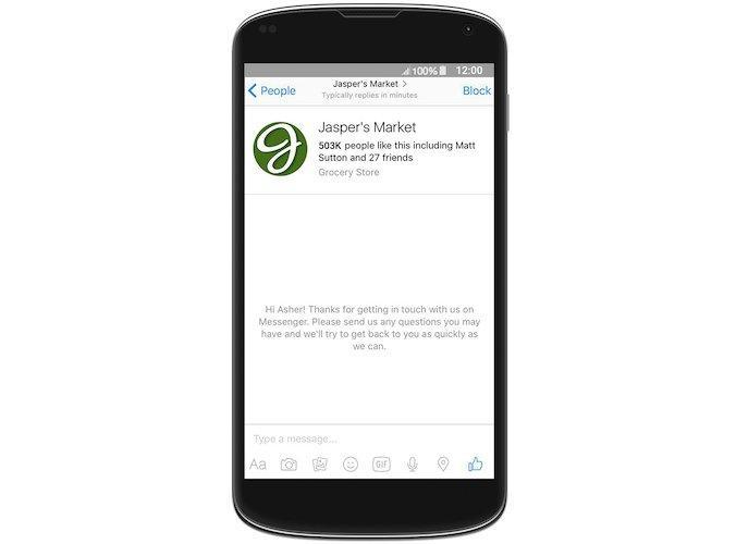 Facebook Messenger presenta Codes, Usernames e Links_6