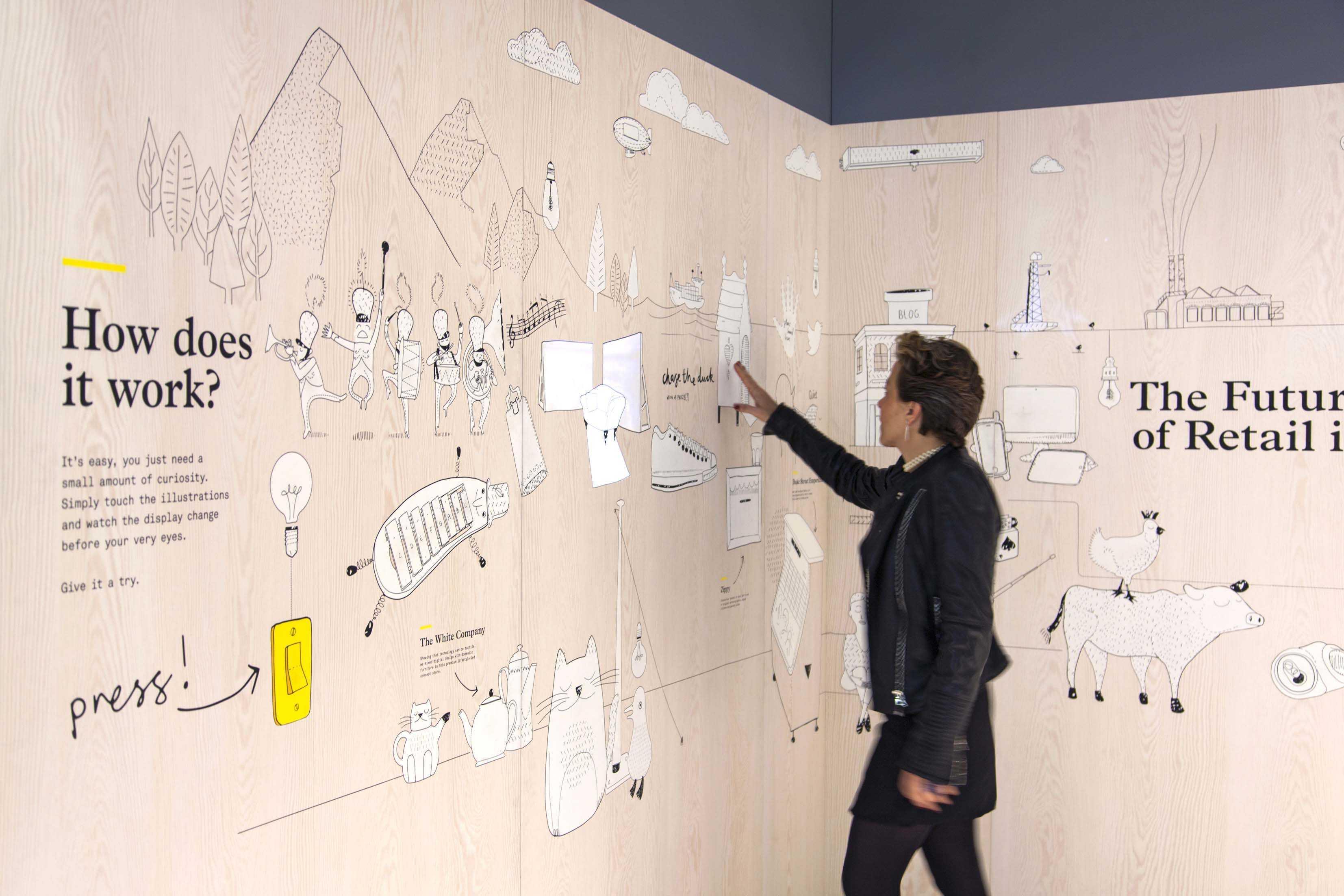 Smart Wall: vernici elettriche e altre super tecnologie per le pareti del futuro