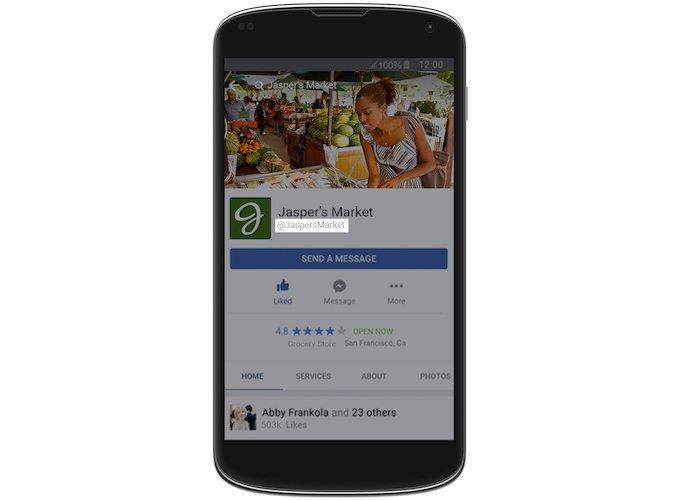 Facebook Messenger presenta Codes, Usernames e Links_3