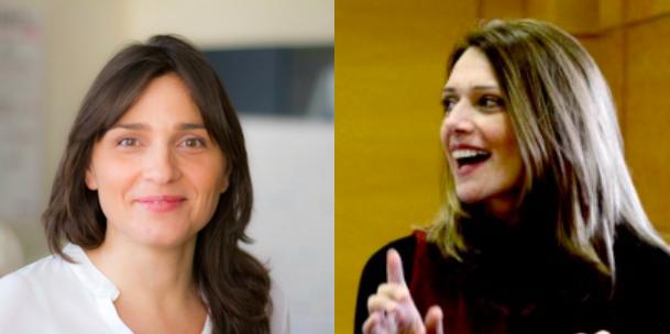 Gaia Spinella e Antonella Mandarano