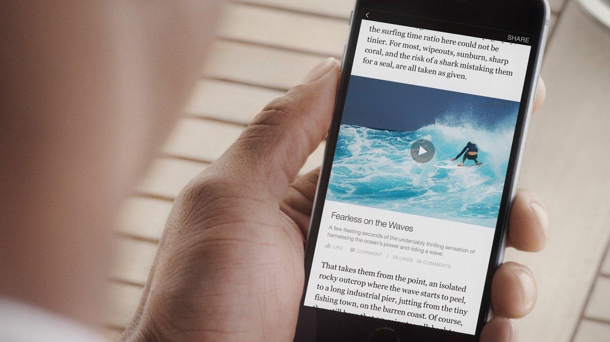 Facebook Instant Articles: la rivoluzione nascosta
